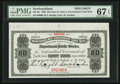 Canadian Currency: , St. John's, NF- Newfoundland Government Cash Note 80¢ 1906 Ch. #NF-4fs Face Specimen. ...