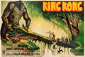 "Movie Posters:Horror, King Kong (RKO, 1933). French Double Grande (61.5"" X 92"") Style A....."