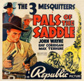 "Movie Posters:Western, Pals of the Saddle (Republic, 1938). Six Sheet (79"" X 81"").. ..."