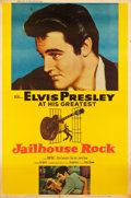 "Movie Posters:Elvis Presley, Jailhouse Rock (MGM, 1957). Poster (40"" X 60"") Style Y.. ..."