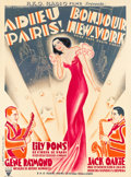 "Movie Posters:Comedy, That Girl from Paris (RKO, 1936). French Grande (46"" X 62.25"")....."