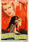 "Movie Posters:Horror, The Hunchback of Notre Dame (RKO, 1948). First Post-War ReleaseItalian 4 - Foglio (54"" X 77.25"").. ..."