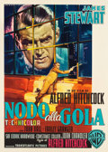 "Movie Posters:Hitchcock, Rope (Warner Brothers, 1956). First Release Italian 2 - Foglio (39""X 54.25"").. ..."