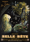 "Movie Posters:Fantasy, La Belle et la Bete (DisCina, 1946). French Grande (45.75"" X 62.25"").. ..."