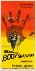 "Movie Posters:Science Fiction, Invasion of the Body Snatchers (Allied Artists, 1956). Three Sheet (41"" X 80.5"").. ..."