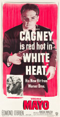 "Movie Posters:Film Noir, White Heat (Warner Brothers, 1949). Three Sheet (41"" X 79"").. ..."
