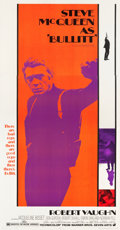 "Movie Posters:Crime, Bullitt (Warner Brothers, 1968). Three Sheet (41.5"" X 78.75"").. ..."