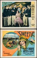 "Movie Posters:Musical, Sweetie (Paramount, 1929). Title Lobby Card and Lobby Card (11"" X 14"").. ... (Total: 2 Items)"