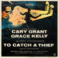 "Movie Posters:Hitchcock, To Catch a Thief (Paramount, 1955). Six Sheet (79.5"" X 81"").. ..."