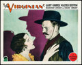 """Movie Posters:Western, The Virginian (Paramount, 1929). Lobby Card (11"""" X 14"""").. ..."""