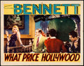 "Movie Posters:Drama, What Price Hollywood? (RKO, 1932). Lobby Card (11"" X 14"").. ..."