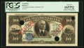Canadian Currency: , Montreal, PQ- The Molsons Bank $10 January 2, 1912 Ch. # 490-32-04SSpecimen. ...
