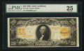 Large Size:Gold Certificates, Fr. 1185 $20 1906 Gold Certificate PMG Very Fine 25.. ...