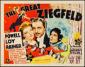 "Movie Posters:Musical, The Great Ziegfeld (MGM, 1936). Title Lobby Card (11"" X 14"").. ..."