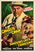 "Movie Posters:Mystery, Shadows over Chinatown (Monogram, 1946). One Sheet (27"" X 41"")....."