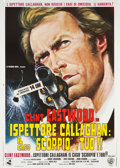 "Movie Posters:Crime, Dirty Harry (Warner Brothers, R-1972). Italian 2 - Foglio (39.5"" X55"").. ..."