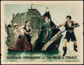 "Movie Posters:Swashbuckler, The Black Pirate (United Artists, 1926). Lobby Card (11"" X 14"").. ..."