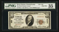 National Bank Notes:Pennsylvania, West Chester, PA - $10 1929 Ty. 1 The NB of Chester County Ch. #552. ...
