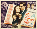 "Movie Posters:Drama, The Razor's Edge (20th Century Fox, 1946). Half Sheet (22"" X 28"")....."