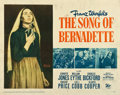 "Movie Posters:Drama, The Song of Bernadette (20th Century Fox, 1943). Half Sheet (22"" X 28"").. ..."