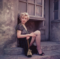 MILTON GREENE (American, 1922-1985) Marilyn Monroe, from the 'Hooker' Sitting, Los Angeles, 1956 Dye