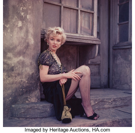 MILTON GREENE (American, 1922-1985) Marilyn Monroe, from the 'Hooker' Sitting, Los Angeles, 1956 Dye-transfer, 1979 1...