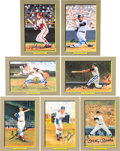 """Baseball Collectibles:Others, 1985-98 Perez-Steele Galleries Signed """"Great Moments"""" Card Collection - With 61 Signed. ..."""