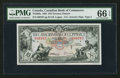 Canadian Currency: , Toronto, ON- The Canadian Bank of Commerce $10 Jan. 2, 1935 Ch. #75-18-08a . ...