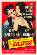 "Movie Posters:Film Noir, The Killers (Universal International, R-1956). One Sheet (27.25"" X41"").. ..."