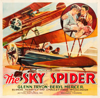 """The Sky Spider (Action, 1931). Six Sheet (79"""" X 81"""")"""