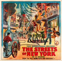 """The Streets of New York (Pilot, 1920s). Six Sheet (81"""" X 82.5"""")"""