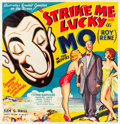 "Movie Posters:Comedy, Strike Me Lucky (Z Films, 1934). Australian Six Sheet (78"" X 81"").. ..."