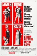 "Movie Posters:James Bond, From Russia with Love (United Artists, 1964). One Sheet (27"" X 41"")Style B.. ..."