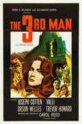 "Movie Posters:Film Noir, The Third Man (Selznick, 1949). One Sheet (27.25"" X 41"").. ..."