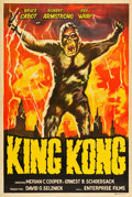 "Movie Posters:Horror, King Kong (Enterprise, R-1950s). Argentinean One Sheet (29"" X43.25"").. ..."