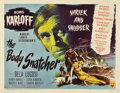"Movie Posters:Horror, The Body Snatcher (RKO, 1945). Half Sheet (22"" X 28"") Style B.. ..."