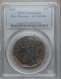 Bust Half Dollars, 1835 50C -- Environmental Damage -- PCGS Genuine. AU Details. NGCCensus: (52/588). PCGS Population (100/479). Mintage: 5,3...