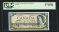 Canadian Currency: , BC-33a $20 1954 Devil's Face. ...