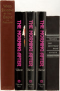 Books:Literature 1900-up, [Autographed Literature]. Group of Five Books. Includes: threeinscribed copies of The Morning After by Jack Weiner;...(Total: 5 Items)