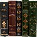Books:Fine Bindings & Library Sets, [Franklin Library/Easton Press]. Group of Five Books Published by the Franklin Library and the Easton Press. 1976-1980. Publ... (Total: 5 Items)