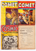 Pulps:Science Fiction, Comet/Cosmic Science Fiction Group (H-K Publ./Albing, 1941)Condition: Average VG-.... (Total: 7 Comic Books)