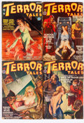 Pulps:Horror, Terror Tales Group (Popular, 1935-39) Condition: Average VG-....(Total: 7 Comic Books)