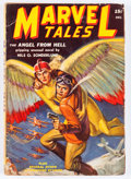 Pulps:Science Fiction, Marvel Tales - December '39 (Red Circle, 1939) Condition: VG-....