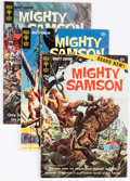 Bronze Age (1970-1979):Adventure, Mighty Samson Group (Gold Key, 1969-76) Condition: Average VG.... (Total: 100 Comic Books)