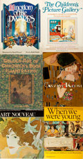 Books:Children's Books, [Children's Book Illustration]. Group of Six Books aboutIllustration, four of which are about children's book illustration... (Total: 6 Items)