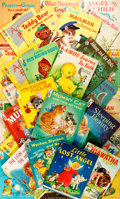 Books:Children's Books, [Children's]. Group of Thirty-Five Rand McNally Children's Books.Various dates. Thin octavos. Publisher's printed boards. R...(Total: 35 Items)