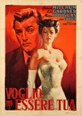 "Movie Posters:Drama, My Forbidden Past (RKO, 1951). Italian 2 - Foglio (39"" X 55"").. ..."