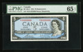 Canadian Currency: , BC-39cA $5 1954 Replacement Note *R/X Prefix. ...