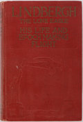 Books:Biography & Memoir, George Buchanan Fife. Lindbergh the Lone Eagle His Life andAchievements. The World Syndicate Co., 1927. First e...