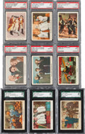 "Non-Sport Cards:Lots, 1959 Fleer ""Three Stooges"" SGC and PSA Graded Collection (34). ..."